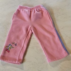 Size 1 Dora The Explorer pink track pants